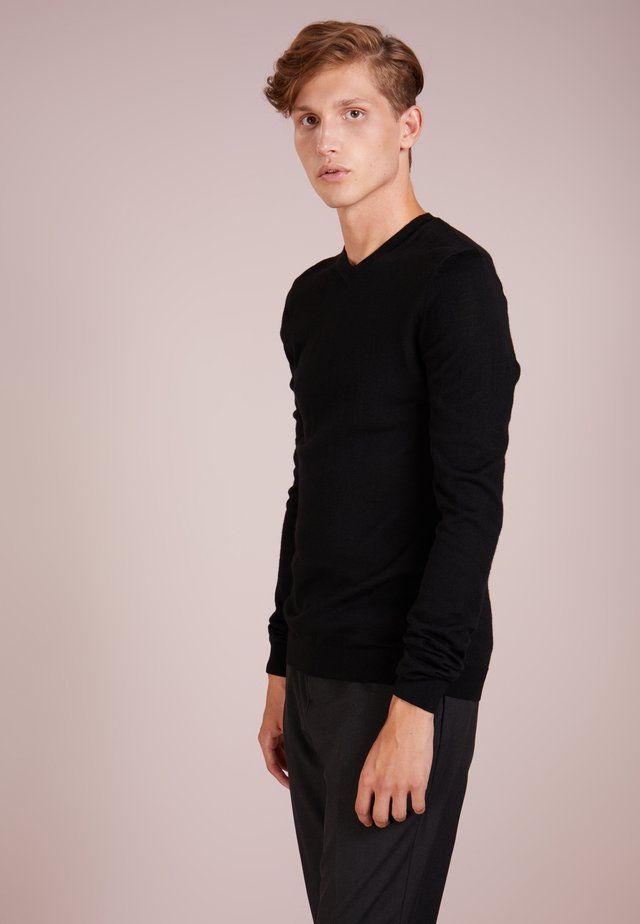 CHARLES - Jumper - black