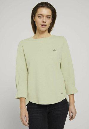 Langærmede T-shirts - light dusty green