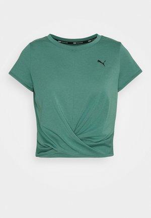 TWISTED  - T-shirt imprimé - blue spruce