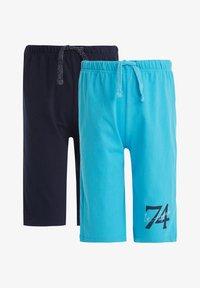 DeFacto - 2 PACK - Shorts - blue - 0