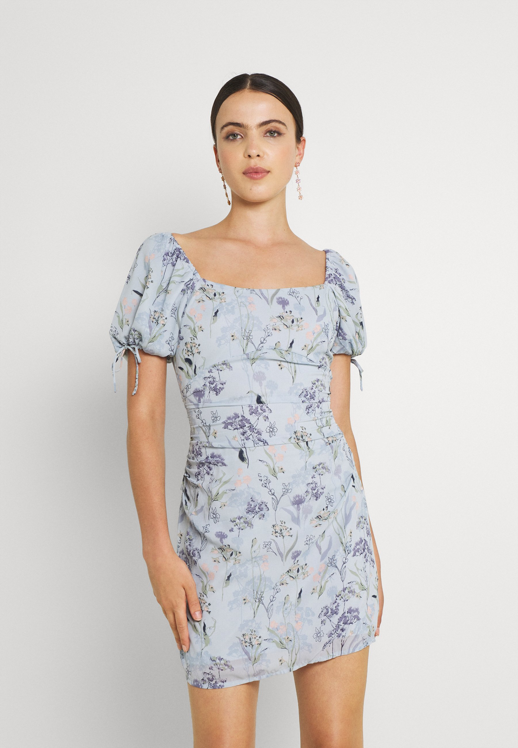 Women RUCHED PUFF DRESS - Cocktail dress / Party dress