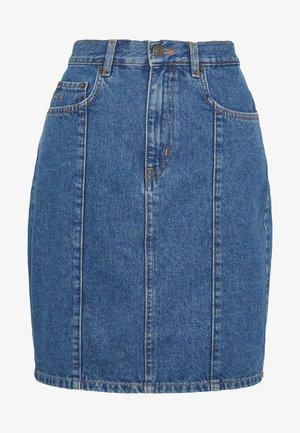ELISSAR SKIRT - Denim skirt - blue denim wash