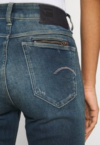 G-Star - NOXER STRAIGHT - Straight leg jeans - antic faded baum blue - 4