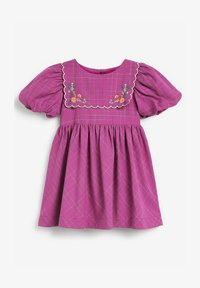 Next - EMBROIDERED - Day dress - purple - 0