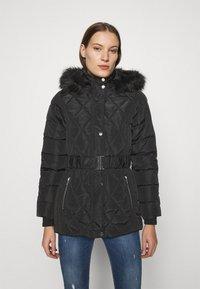 Dorothy Perkins - SHORT LUXE - Winter coat - black - 0