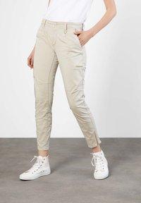 MAC Jeans - Trousers - beige - 0