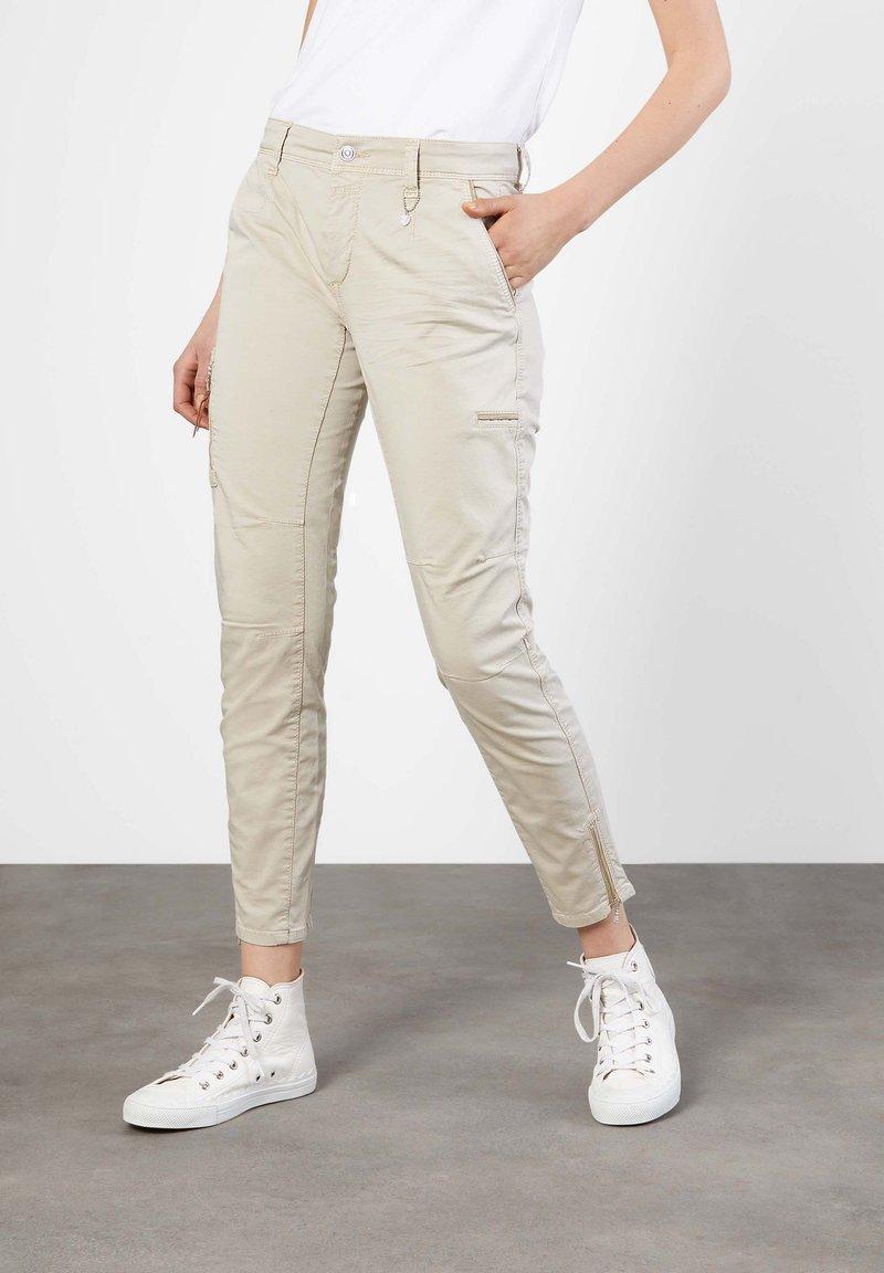 MAC Jeans - Trousers - beige