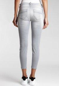 Gang - NELE - Jeans Skinny Fit - grey genoa - 1