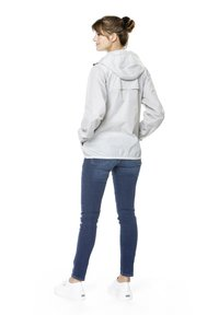 K-Way - UNISEX LE VRAI CLAUDE - Zip-up hoodie - grey mid - 2