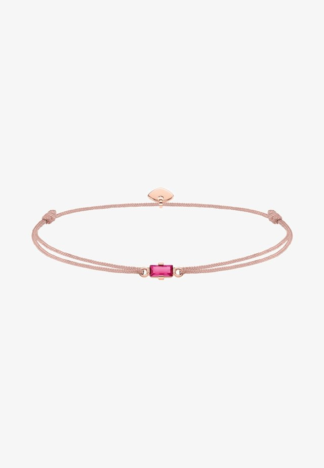 LITTLE SECRET - Armband - beige/rosegold-coloured