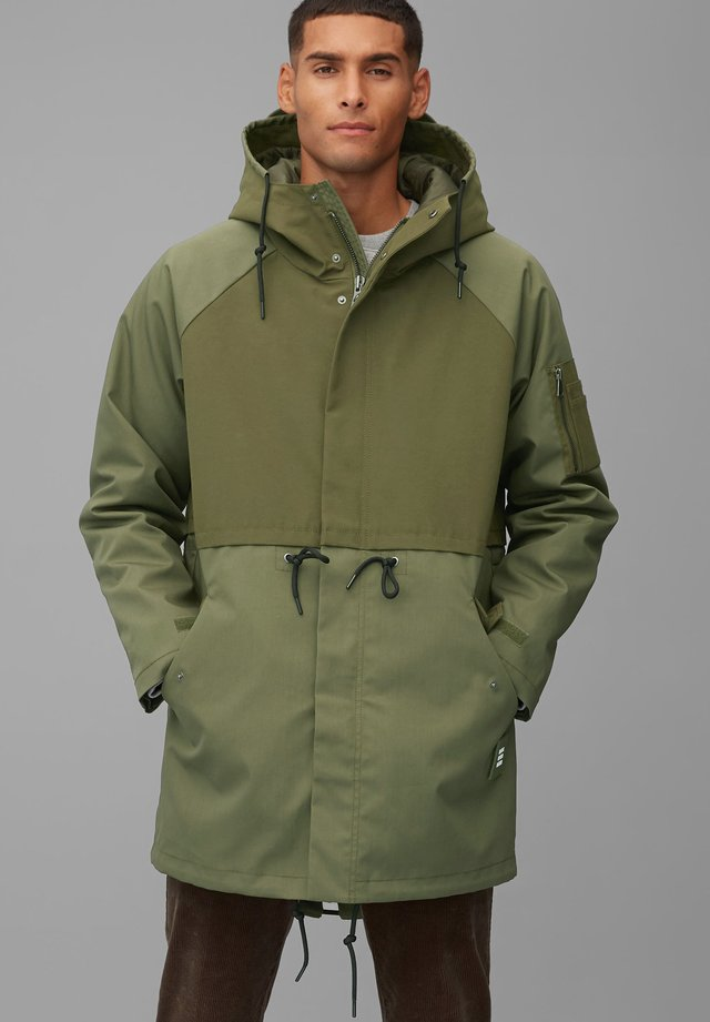 STATEMENT - Winter coat - utility olive