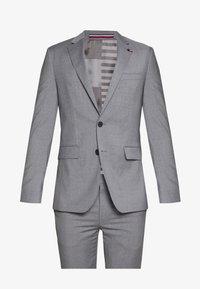 MICRO STRIPE SLIM FIT SUIT SET - Oblek - grey