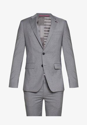 MICRO STRIPE SLIM FIT SUIT SET - Kostym - grey