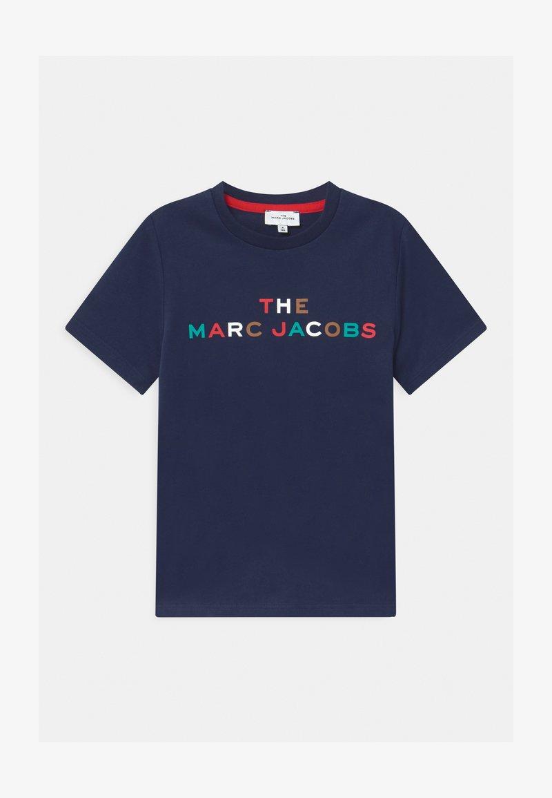 Little Marc Jacobs - SHORT SLEEVES UNISEX - Print T-shirt - medieval blue