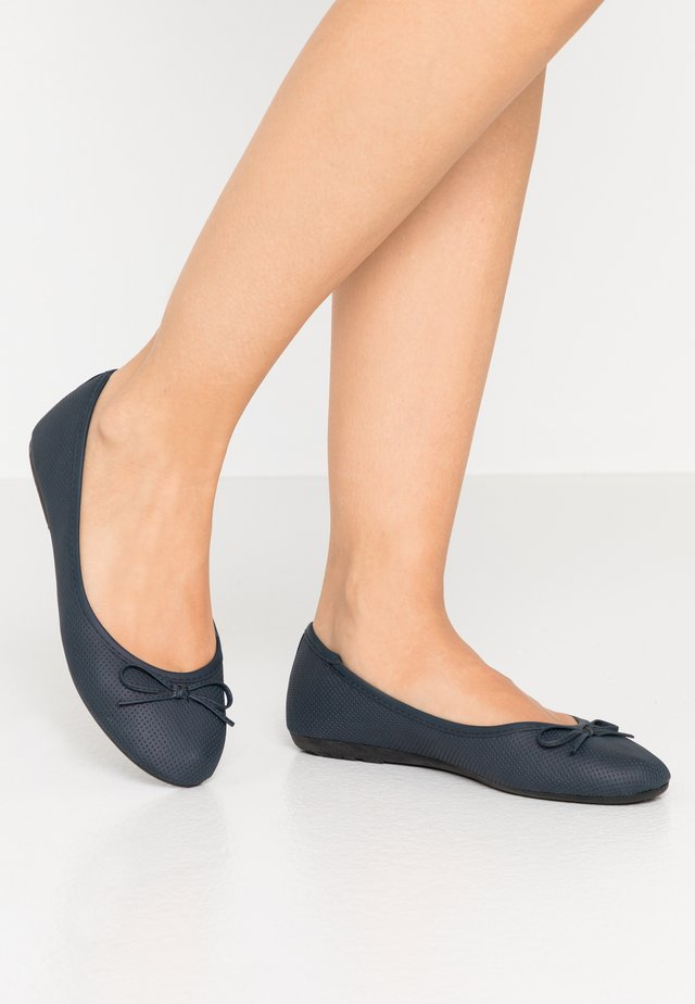 Ballet pumps - dark blue