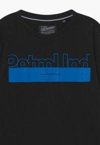 Petrol Industries - Top sdlouhým rukávem - black - 3