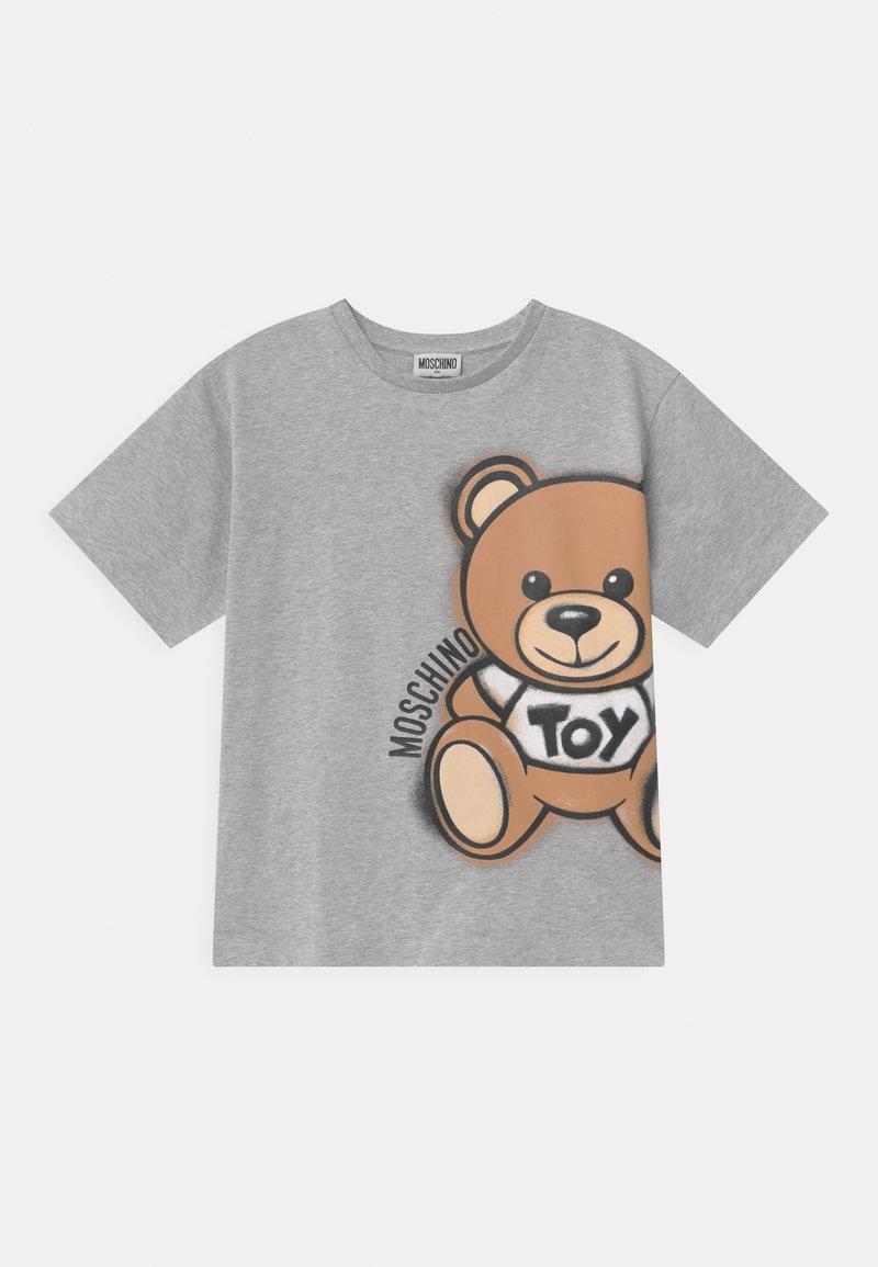 MOSCHINO - MAXI UNISEX - Print T-shirt - grey