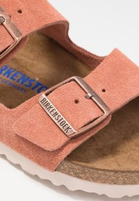Birkenstock - ARIZONA - Slippers - earth red - 2
