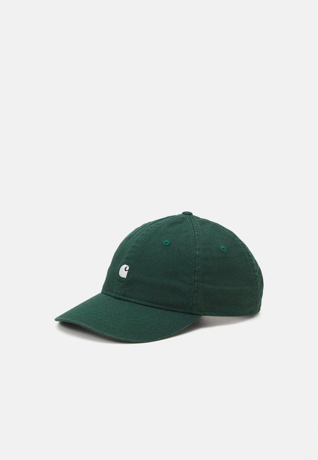 MADISON LOGO UNISEX - Lippalakki - dark green/white