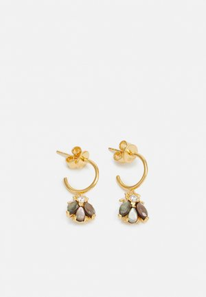 ZAZA - Earrings - gold-coloured