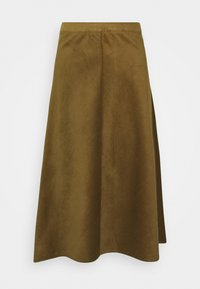 Soaked in Luxury - ILIA - Maxi skirt - military olive - 0