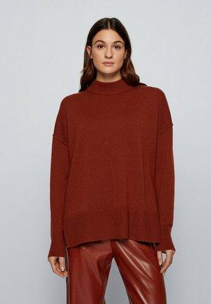 FERUNI - Pullover - brown