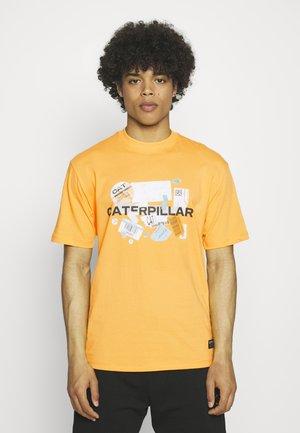 POWER TEE - T-shirts print - yellow