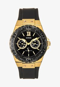 Guess - LADIES SPORT - Watch - black/gold-coloured - 1