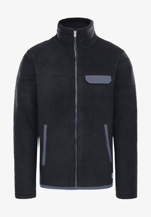 Fleece jacket - tnf black/vanadis grey
