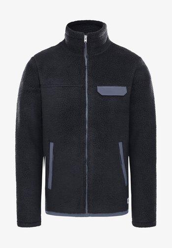 Fleece jacket - tnf black/vanadis grey