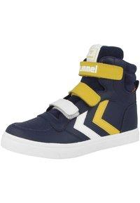 Hummel - STADIL PRO JR - Zapatillas skate - black iris-sulphur - 2