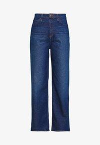 A LINE - Flared Jeans - dark garner