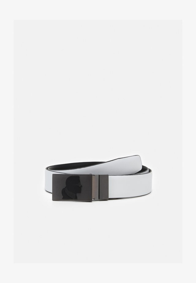 BELT - Riem - black/white