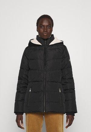 INSULATED COAT - Piumino - black