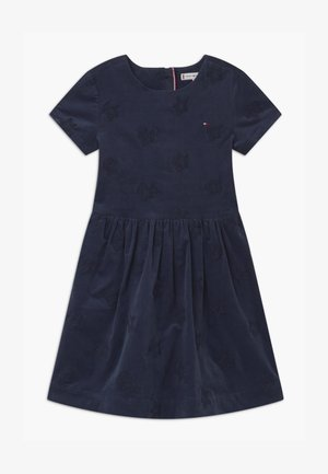 EMBROIDERED STAR - Cocktail dress / Party dress - blue