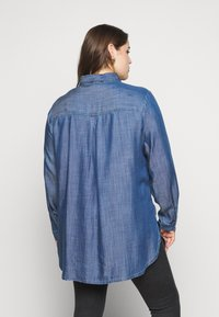 CAPSULE by Simply Be - Button-down blouse - dark blue - 2