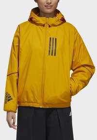 adidas Performance - ADIDAS W.N.D. WARM JACKET - Outdoorjacke - gold - 7