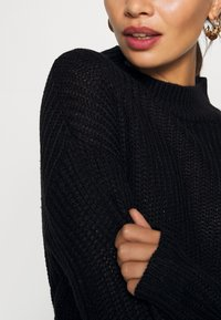 Missguided Petite - BASIC DRESS WITH BELT - Robe fourreau - black - 6