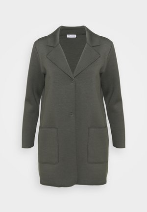 EASY COAT - Short coat - deep forest