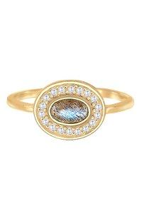 Elli - VINTAGE LABRADORIT  - Ring - gold-coloured - 3