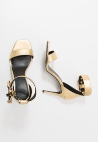Versace Jeans Couture - High heeled sandals - oro - 3