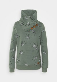 ONLY - ONLPIP NADINE HIGHNECK - Sweatshirt - balsam green - 4