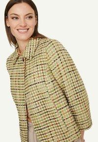 comma - Light jacket - spring green jaquard - 3