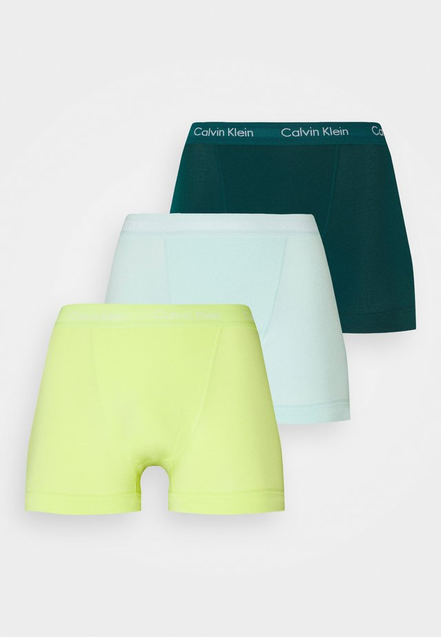TRUNK 3 PACK - Pants - maya blue/direct green/aqua luster