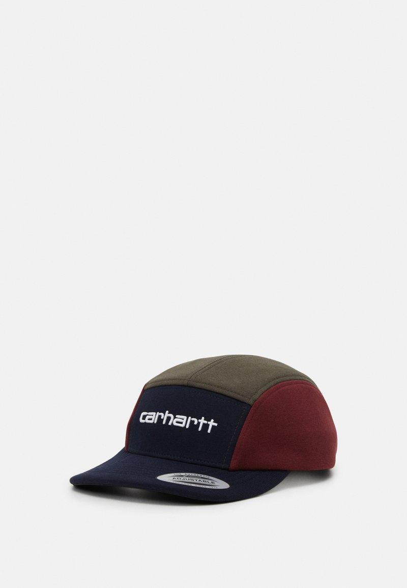 Carhartt WIP - TRICOL  - Cap - dark navy/cypress/bordeaux