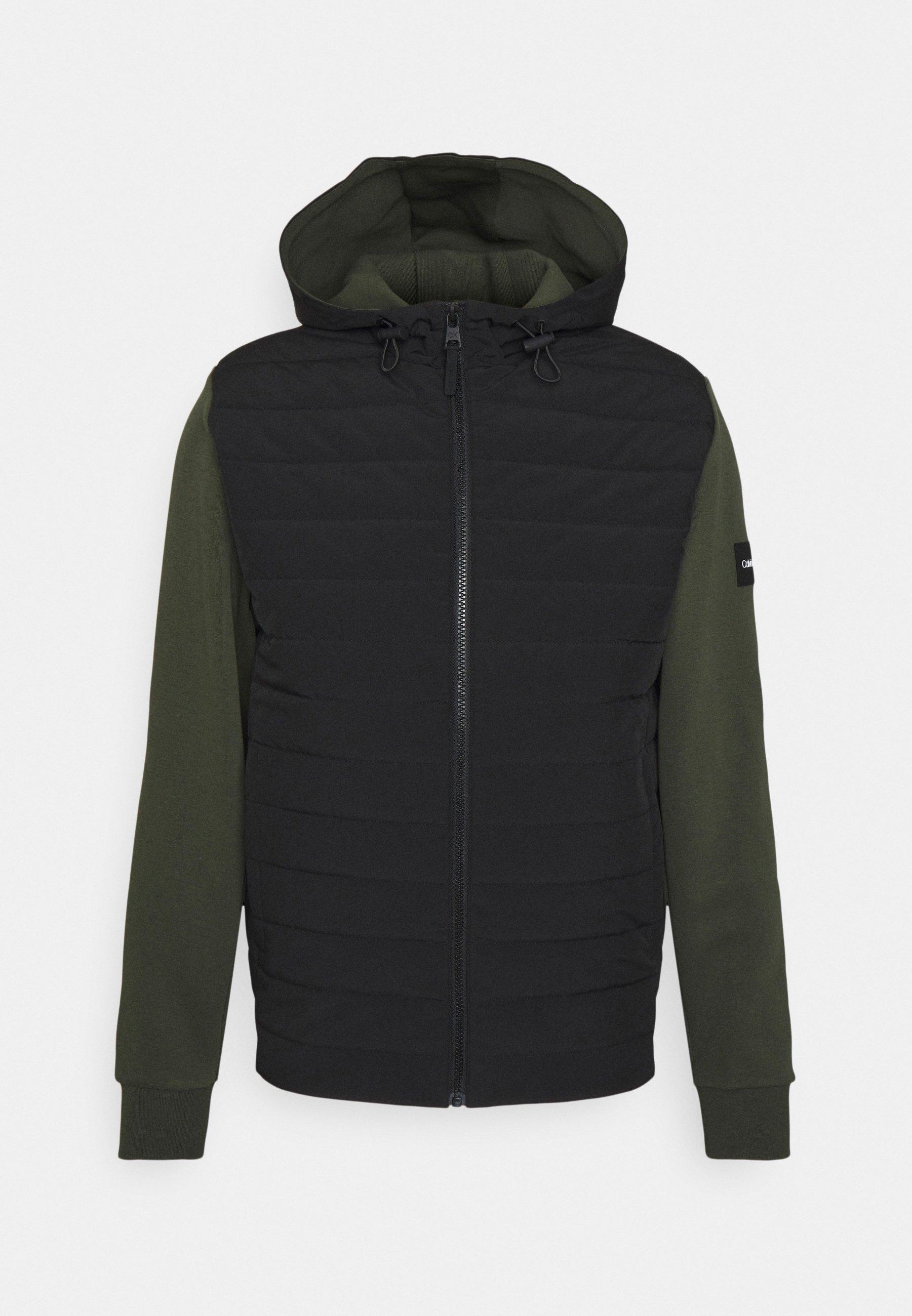 Men MIX MEDIA HOOD JACKET - Light jacket