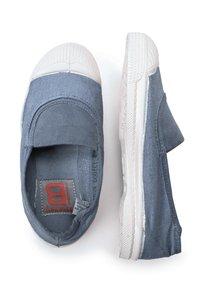 Bensimon - ELASTIC - Slip-ons - blue denim - 1
