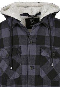 Brandit - LUMBER - Light jacket - black/grey - 8