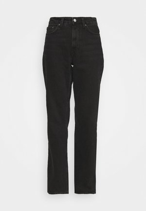 VOYAGE MORNING - Straight leg jeans - echo black