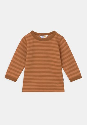 LONG SLEEVES UNISEX - Long sleeved top - brown